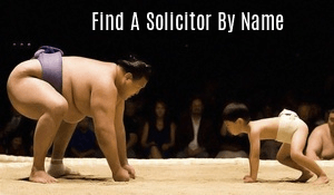 Find a Solicitor by Name