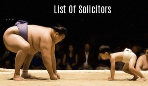 List of Solicitors