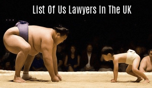 List of US Lawyers in the UK