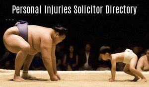 Personal Injuries Solicitor Directory