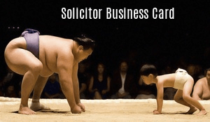 Solicitor Business Card