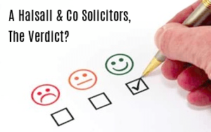 Welcome to A Halsall & Co Solicitors