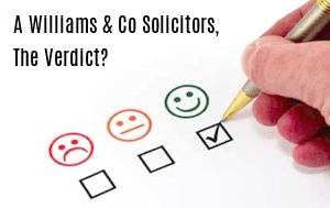 A. Williams & Co. (Solicitors) A Cross Border Law Practice specialising in Divorce, Employment, Arbitration