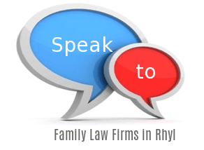 Speak to Local Family Law Firms in Rhyl