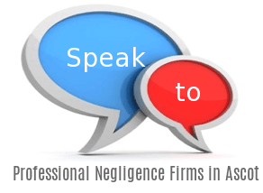 Speak to Local Professional Negligence Solicitors in Ascot