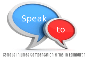 Speak to Local Serious Injuries Compensation Firms in Edinburgh