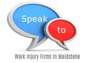 Speak to Local Work Injury Firms in Maidstone