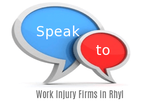 Speak to Local Work Injury Solicitors in Rhyl